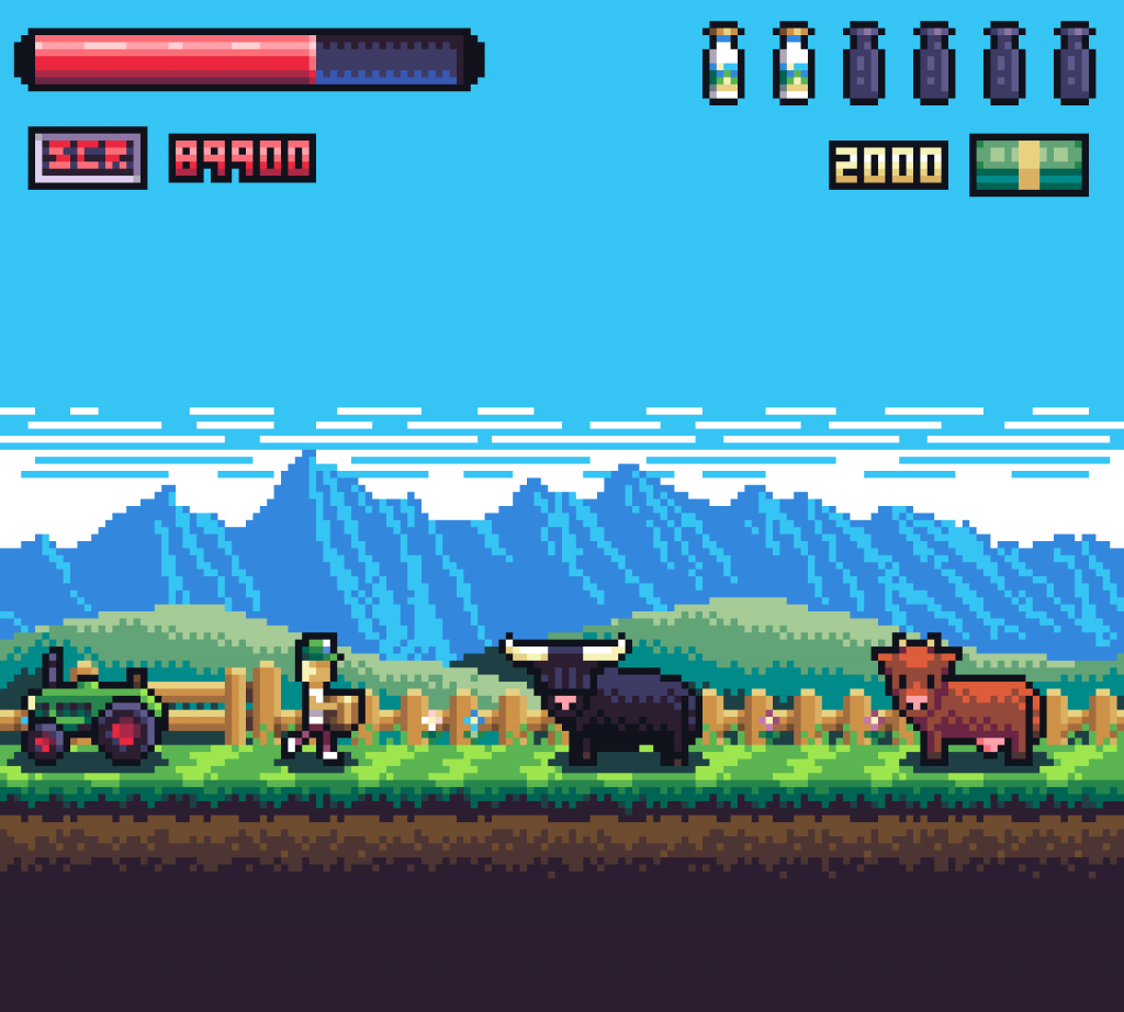 milk the cows remake mockup early version